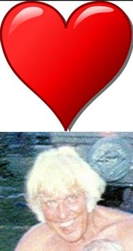 Valentine heart and Jesse