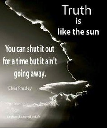 Elvis quote about the truth