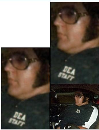 Elvis DEA STAFF logo close up