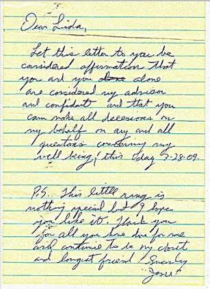 Jesse letter 1st