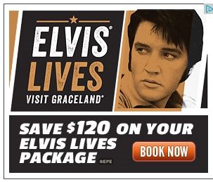 Graceland Ad Elvis Lives