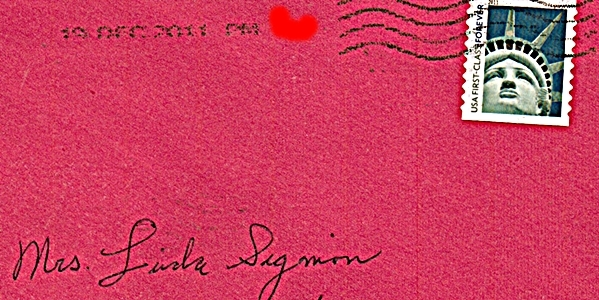 Jesse's Christmas Card envelope 2011 reduced