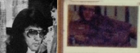 Elvis close up comparison to pool house door photo-horz