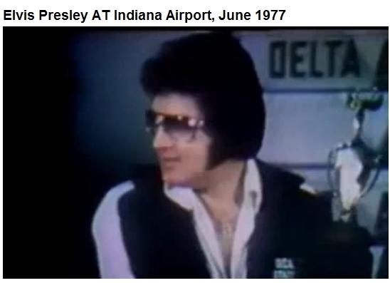 Elvis Indianapolis June 26, 1977 wearing DEA jogging suit
