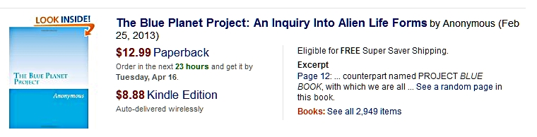 Amazon Blue Planet Project book