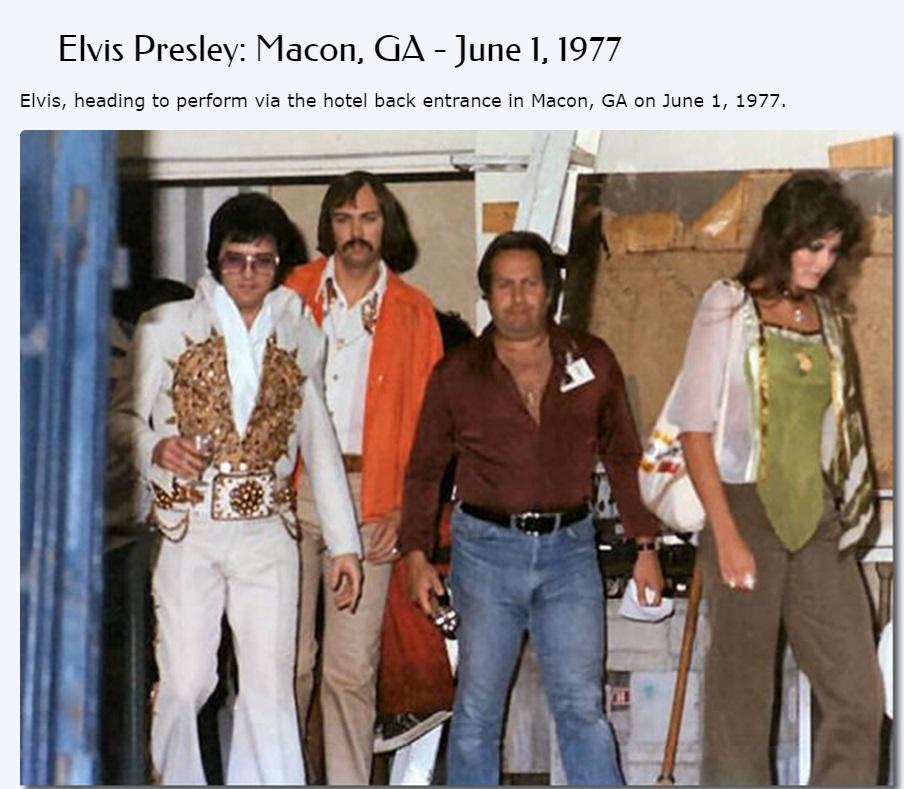 Susan's photos of Elvis in June, 1977