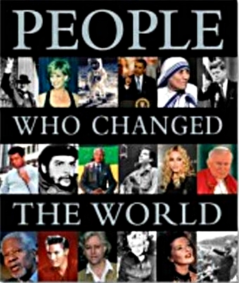 People Who Changed the World book front cover