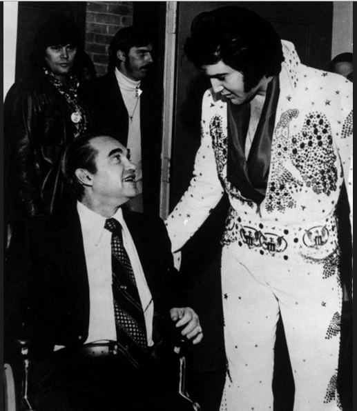 Elvis and George Wallace