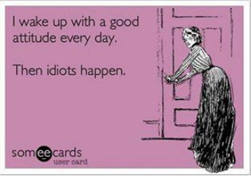 Wake up in good mood...