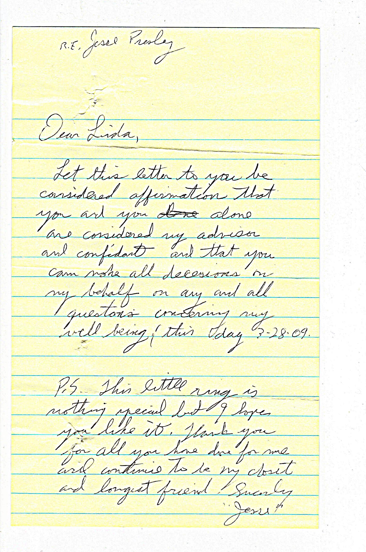 Jesse's letter of affirmation 3-28-09