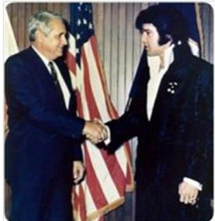 Elvis 1970 police donation