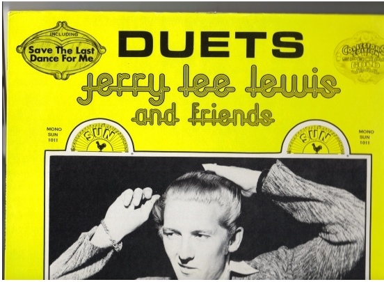 Jerry Lee Lewis Duets front cover of album