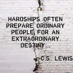 Hardship's prepare ordinary people