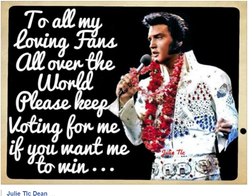 Vote for Elvis KingofMusic