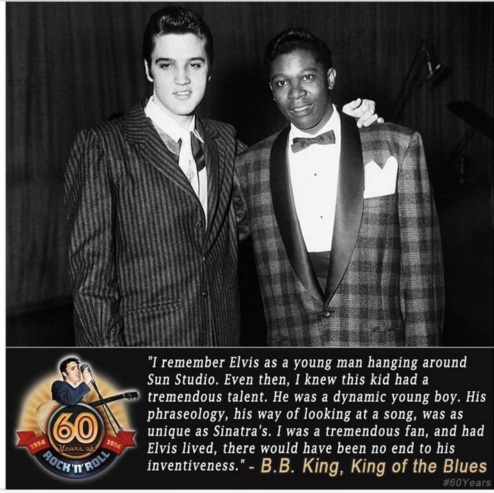 B B King statement about Elvis...B B King passed away