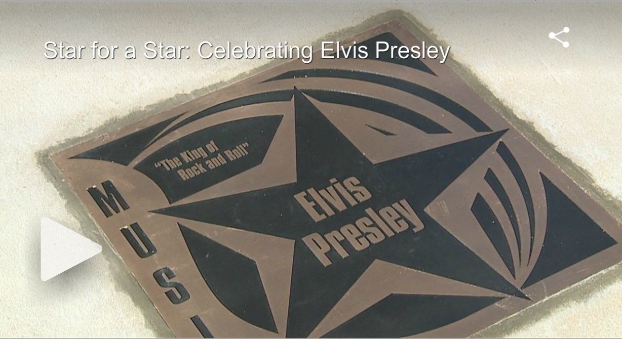 Star for a Star Celebrating Elvis Presley