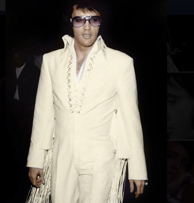 Elvis from Facebookn That's The Way It Is