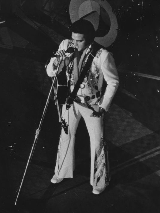Elvis in Asheville in 1975