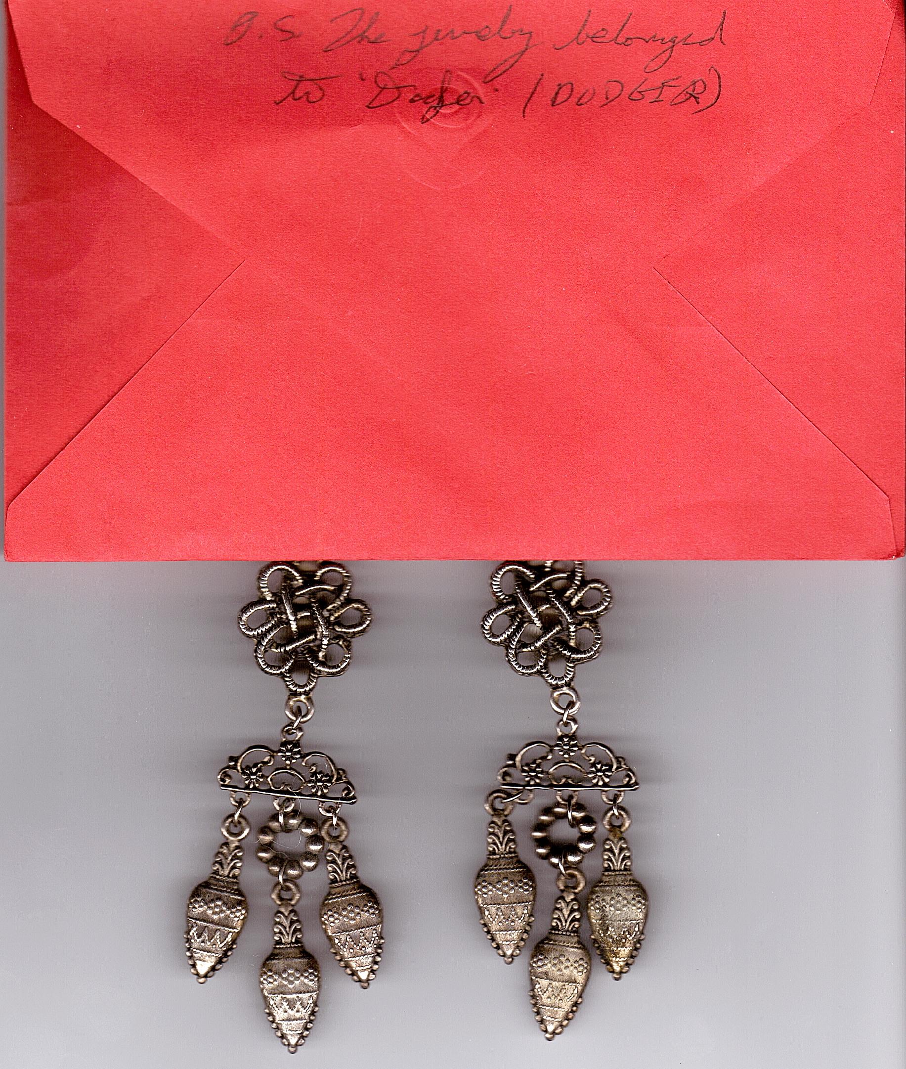 Jesse's jewelry from Dodger