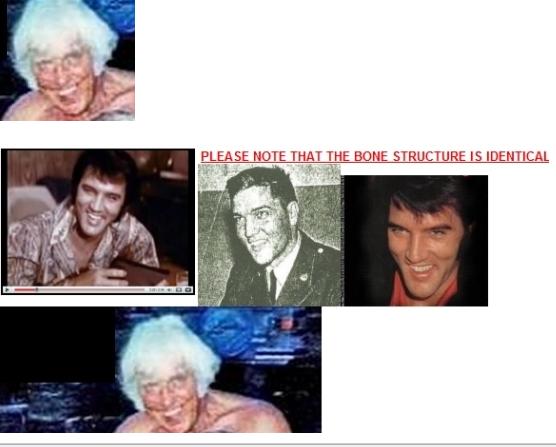 Jesse and Elvis collage