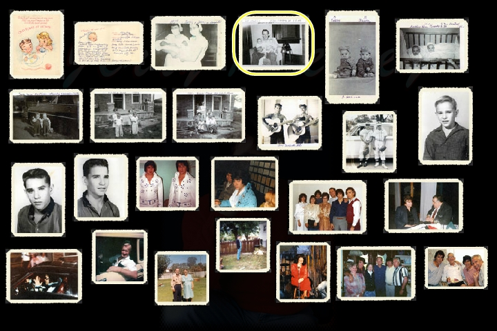 Jerry Presley family collage