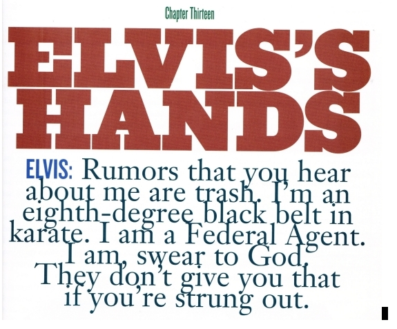 Elvis quote page 13 Elvis By the Presleys