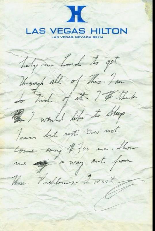 Elvis's note
