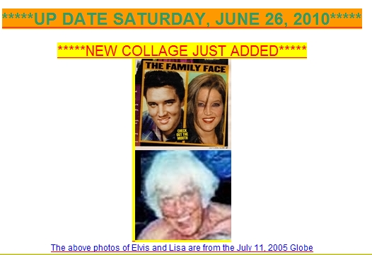Collage of Jesse, Elvis and Lisa